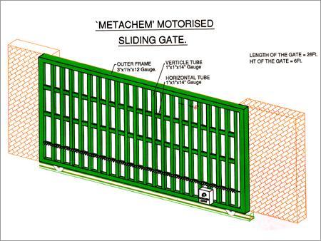 Motorised Gate