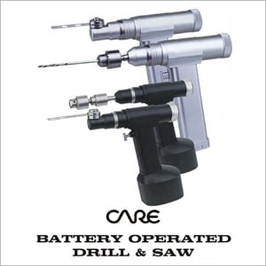 Battery Operated Drill & Saw