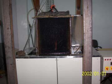 Ultrasonic Radiator Cleaning Machine
