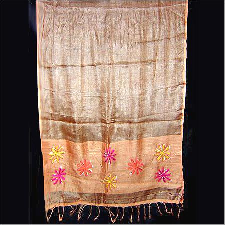 Tasar Silk-Viscose Blended Stripe/Dots Weave