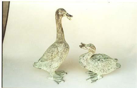 Duck Pair Sculpture