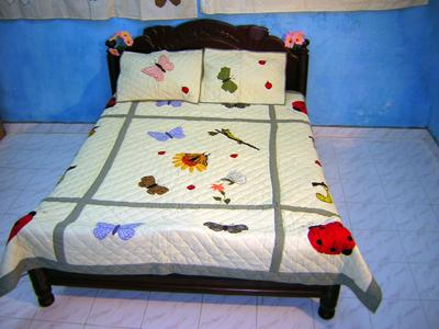Embroidery Handmade Quilt
