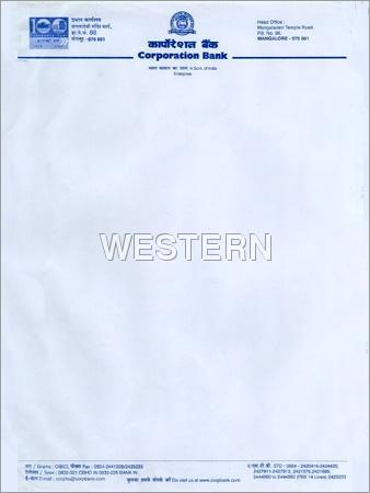 Computer Stationery Letterhead