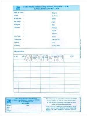 Printed Computer Stationery