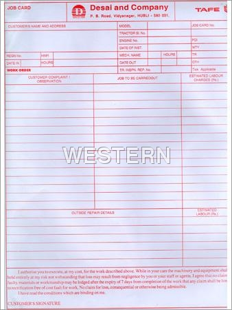 Pre Printed Computer Stationery Forms