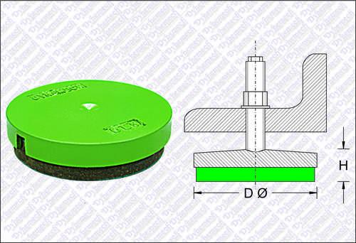 Vibration Damper - Screw Support Mounts