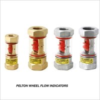 Pelton Wheel Flow Indicator