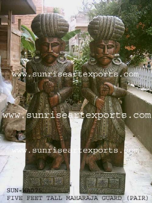 Wooden Decorative Statues