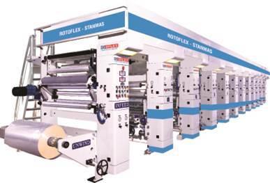 Rotogravure Printing Machine Or Rotoflex Super