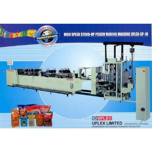 Automatic Pouch Making Machine