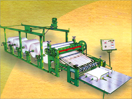Simplex Automatic Paper to Sheet Cutting Machine