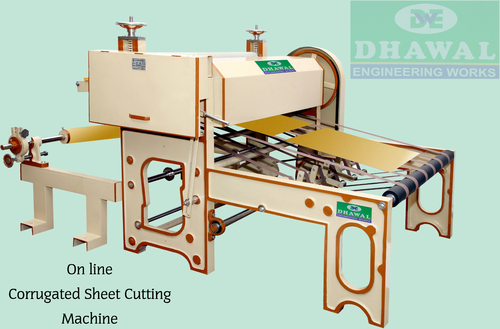 Heavy Duty Online Corrugated Sheet Cutting Machine