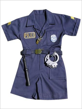 Girls Police uniform