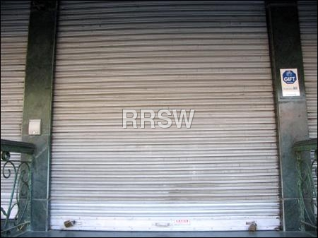 Motorised Steel Rolling Shutters
