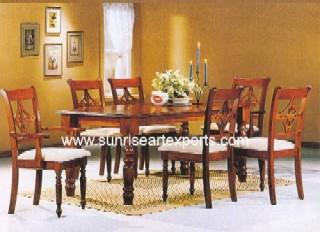Wooden Lorian Dining Sets