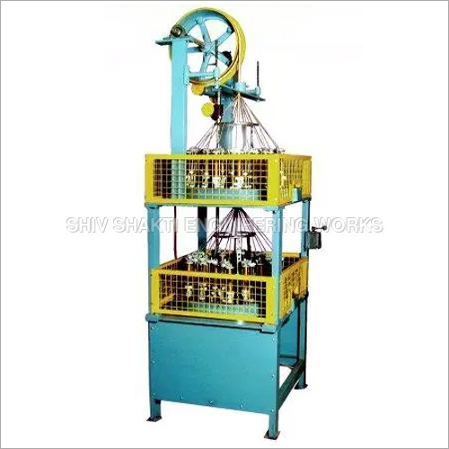 VERTICAL DOUBLE DECK WIRE BRAIDING MACHINE