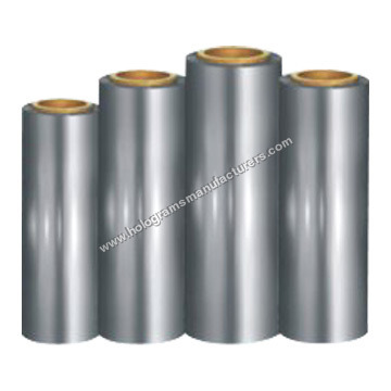 Polyester Film-Corona Metallized Holographic White