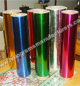 Gold Metalised Films For Lamination