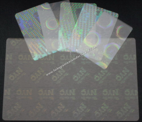 Holographic Encapsuled Pouches