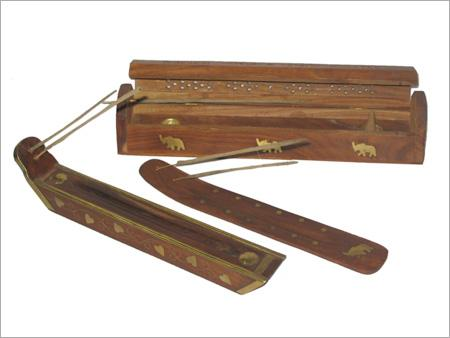 Wooden Incense Holder