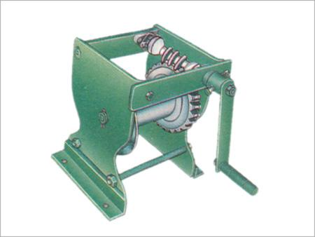 Worm Gear Winch Machine