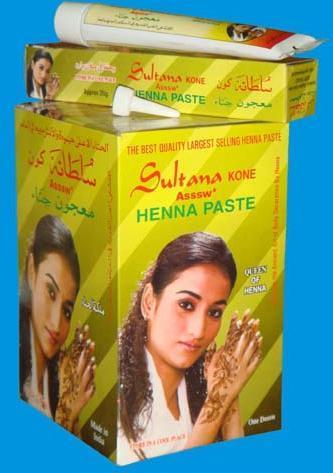Henna Paste Tube