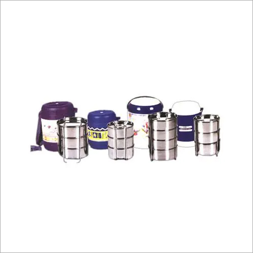 Stainless Steel Thermoware Tiffins
