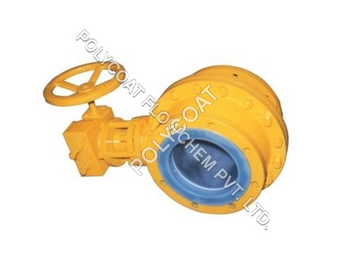 PTFE Gear Operated Ball Valve