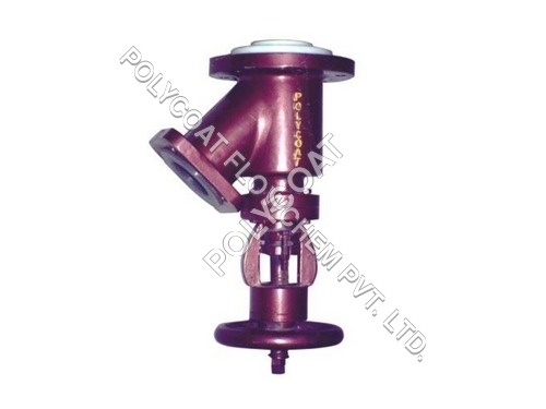 PTFE Flush Bottom Valve