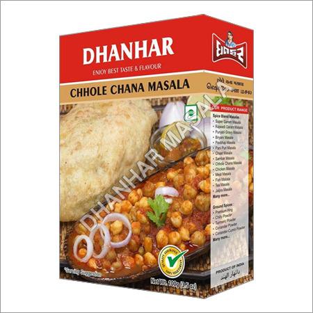 Chhole Chana Masala Manufcturer India