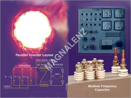 Inside F cover for Induction Melting Furnace