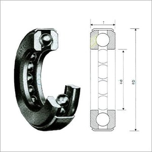 Thrust Type Bearing (with cover)