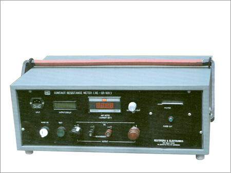 Contact Resistance Meter ( Up to 600Amp)