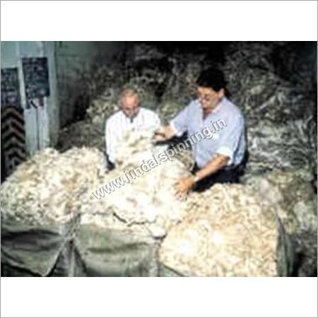 Scoured Wool