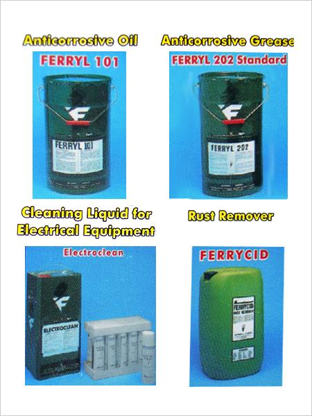 Anti corrosive Oil, Grease, Ferrycid