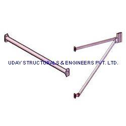Cuplock Ledger Cantilever Frame