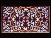 Floral Design Marble Inlay