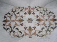 Square Shape Marble Inlays