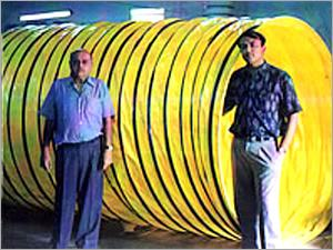 PVC Semi Rigid Ducting