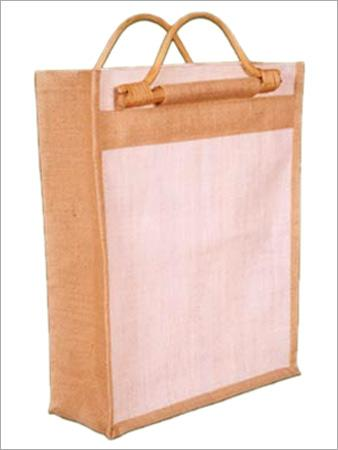 Jute Bag with Hanger Cane Handle