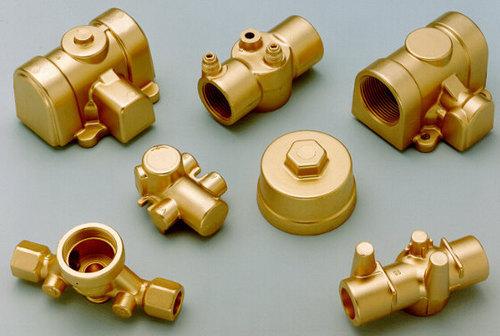 Customised Brass Precision Forging