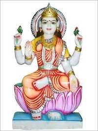 Maha Laxmi in Marble
