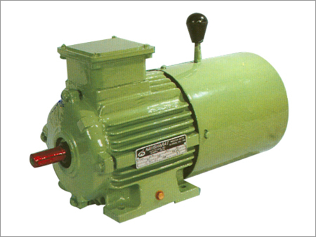 Motor with D.C/A.C Brake