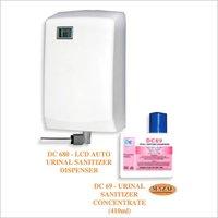 Auto Urinal Sanitizer Dispenser