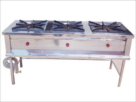 Three Burner Gas Oven