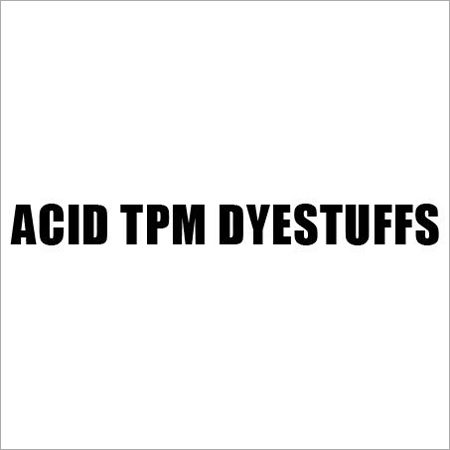 Acid TPM Dyestuffs