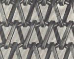 Balanced Weave Flattened Wire Lehr Belt Type L.K. 17
