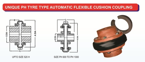 Unique PH Series Tyre Couplings