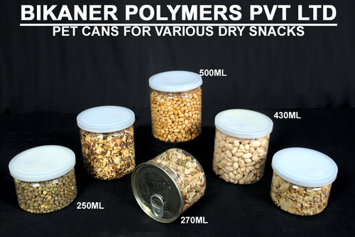 Pet Cans For Dry Snacks