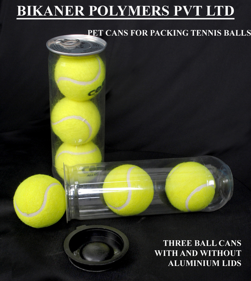 Tennis Ball Pet Cans